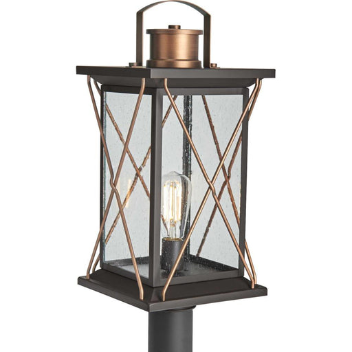 Progress Barlowe Collection Antique Bronze One-Light Post Lantern | P540068-020