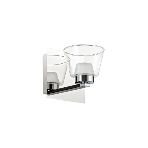 Dainolite 1 Light Wall Sconce, Polished Chrome Finish | VLD836-1W-PC