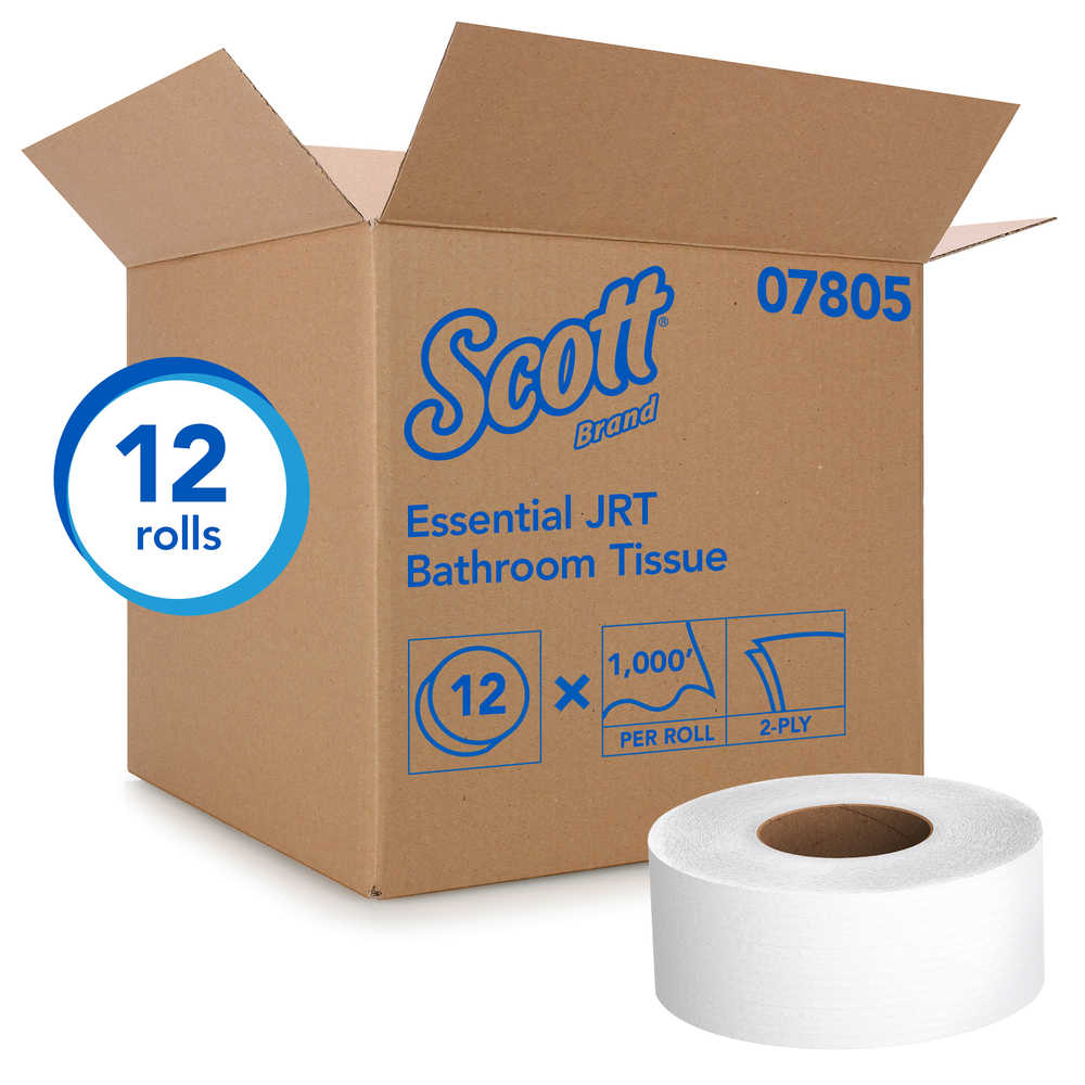 Scott® Cored JRT Jr. Bath Tissue - 12 rolls/case