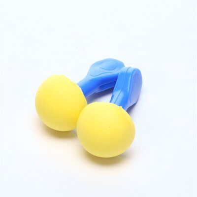 E-A-R Express Pod Plugs Earplugs, Polyurethane, Blue, Uncorded - 100 pair/Box - 321-2100