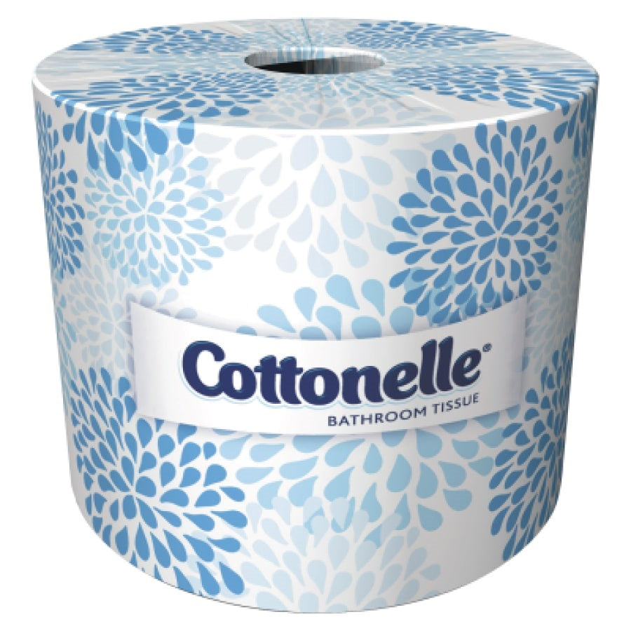 Cottonelle® Professional Bathroom Tissue Standard Toilet Paper Rolls, 2-PLY, White, 60 Rolls / Case, 451 Sheets / Roll - 17713
