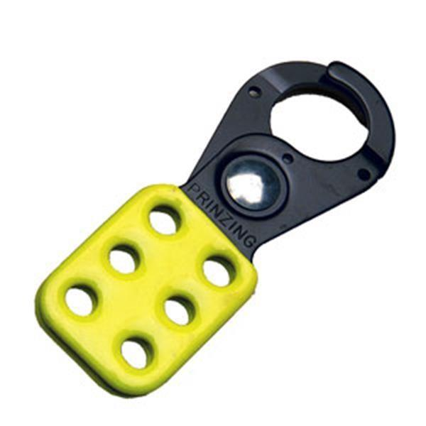 "Brady® Steel Lockout Hasp, 1"", Yellow - 49252"