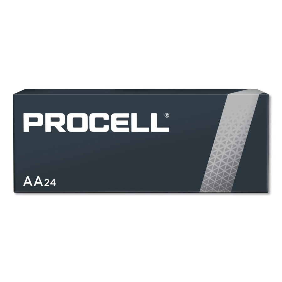Duracell Procell Battery, Non-Rechargeable Alkaline, 1.5 V, AA - 24 Pack