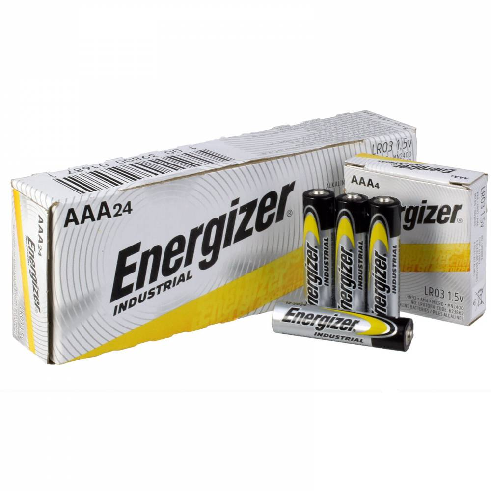 Energizer® Industrial® Alkaline Batteries - AAA 24pack