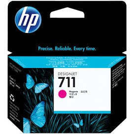 HP 711 Yellow Ink Cartridges, 3/Pack, 29ml (CZ136A)