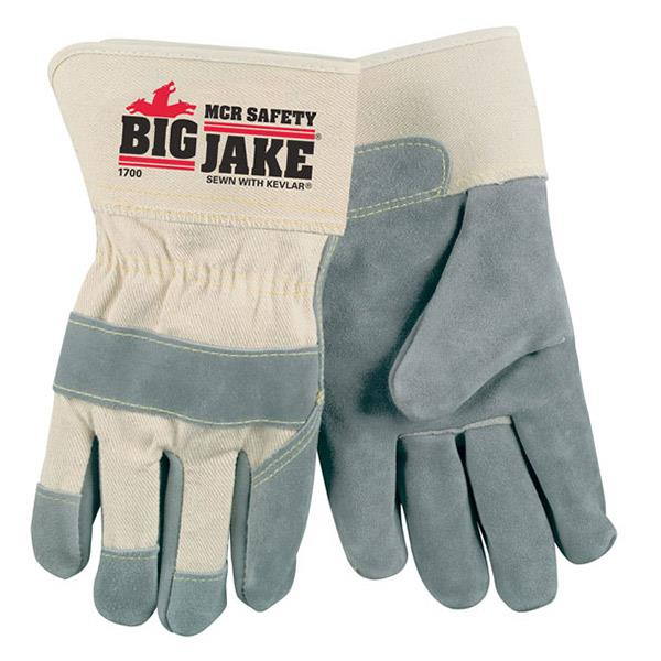 "MCR Big Jake®, A+ Side leather, 2 3/4"" Safety cuff, Sewn with DuPont™ Kevlar®- Large - Dozen - 1700"