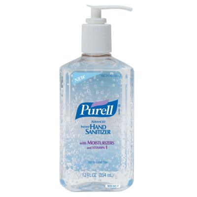 Gojo® Purell® Advanced Instant Hand Sanitizer 12oz Citrus Pump Bottle, 12/Case 3659-12