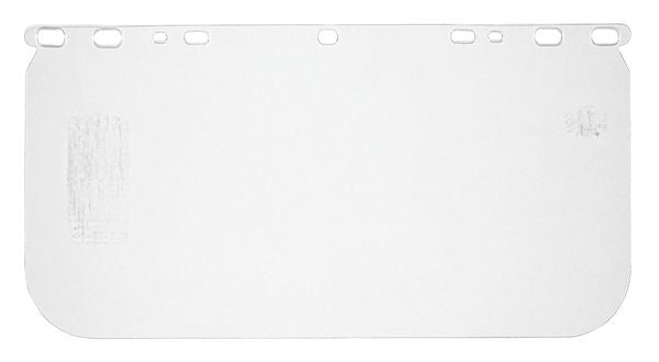 "MCR Safety® Universal Polycarbonate Face Shield, 8"" x 15 1/2"" x 0.04"", Clear, 1/Each - 181540"