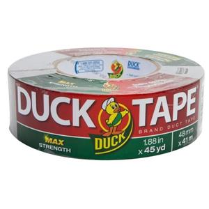 "Duck Brand® Duct Tape, Industrial Grade, 1 7/8"" x 45 yd, Gray - 1231596"