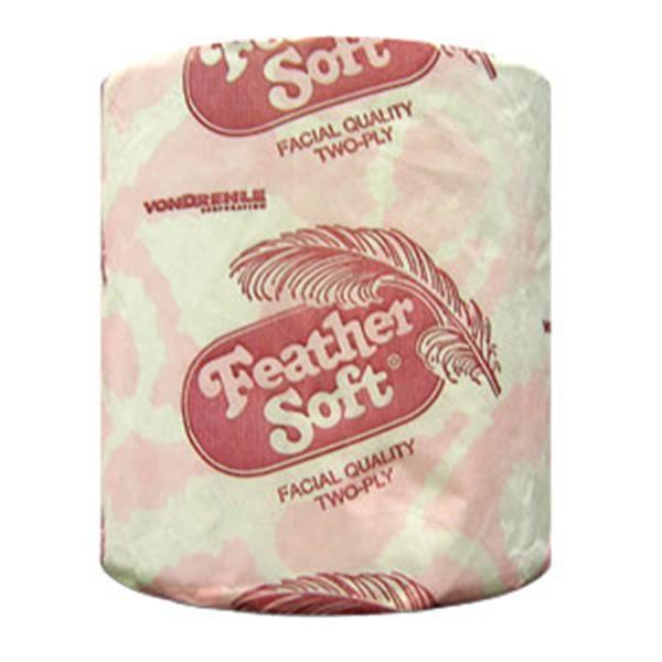 VonDrehle Feather Soft® Bath Tissue, 500 sheets - 96 rolls/case
