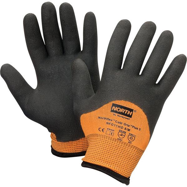 Honeywell North® NorthFlex® Cold Grip Plus 5™ PVC Gloves - Pair - NFD11HD9L
