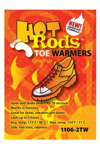 OccuNomix Hot Rods™ Toe Warmers - 5/pair