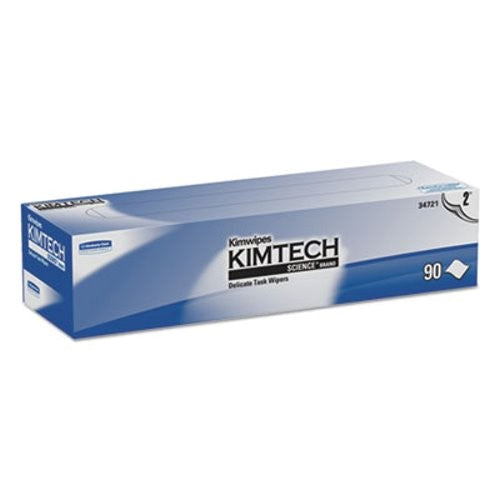 Kimtech Science* Kimwipes* Delicate Task Wipers, 14.7 X 16.6, 2 Ply, 90/box, 15 boxes - 34721KC