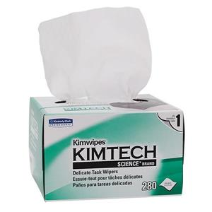 Kimtech Science* Kimwipes* Delicate Task Wipers, 4.4 X 8.4, 280 per box