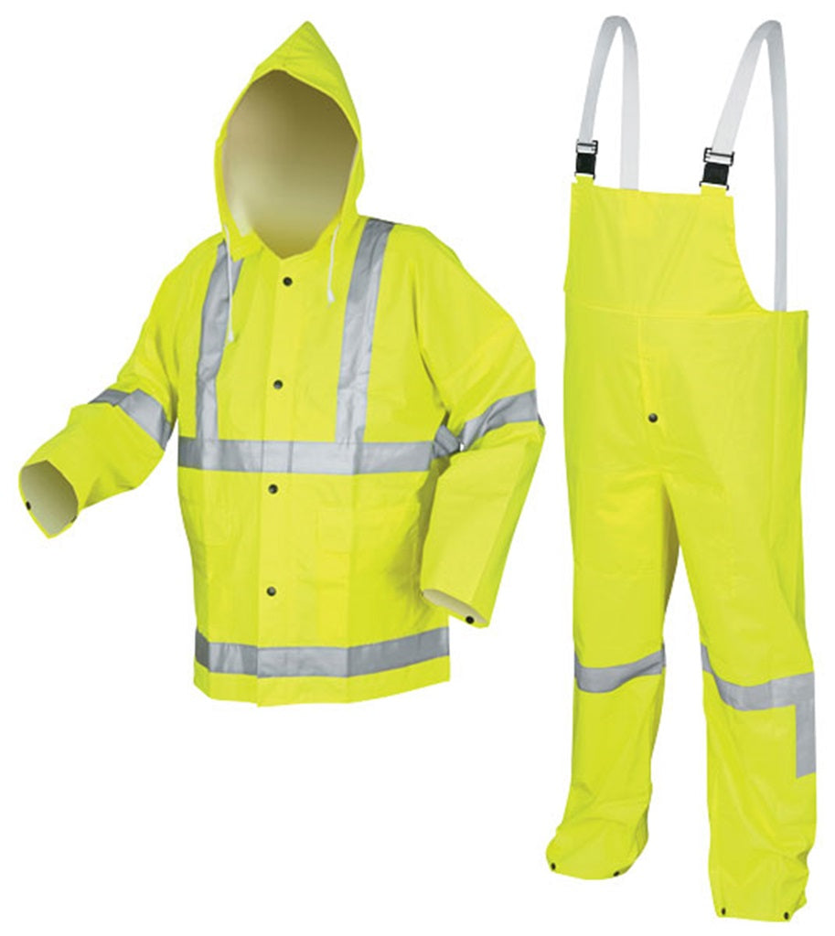 MCR Safety® Luminator™ Class 3 Rain Suits