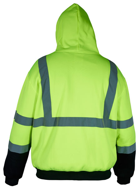 MCR Safety® Hi-Viz Class 3 Hoodies, Two-Tone