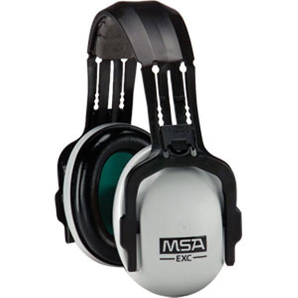 MSA SoundControl® Earmuffs, HPE Cap Mount, NRR 27, Gray/Black - 10061272