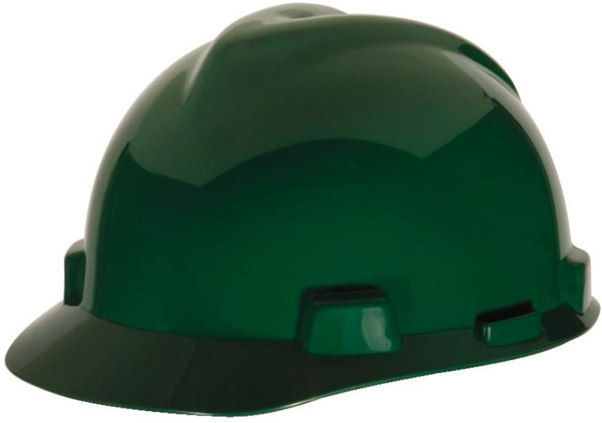 MSA V-Gard® Standard Slotted Cap w/ Staz-On® Suspension