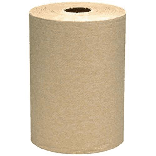"VonDrehle® Preserve® Hardwound Towels, Natural, 7 7/8"" x 350' ea, 12 rolls/case"
