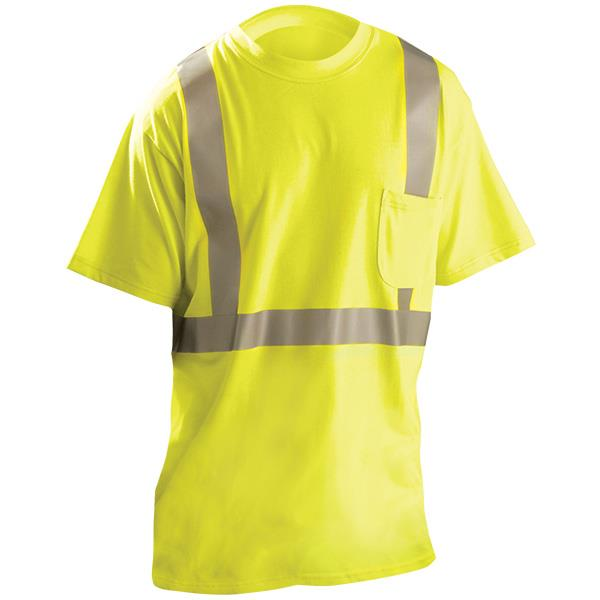 Occunomix Classic Flame Resistant Short Sleeve T-Shirt, Large - LUX-TP2/FR