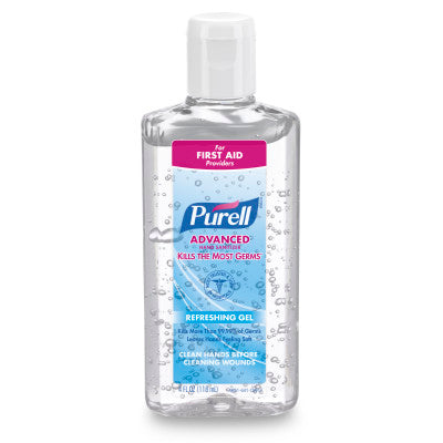 PURELL® Advanced Hand Sanitizer Gel - 4 fl oz Portable Flip Cap Bottle - 965124
