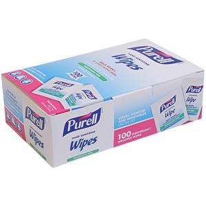 Gojo® Purell® Sanitizing Hand Wipes, 100 count