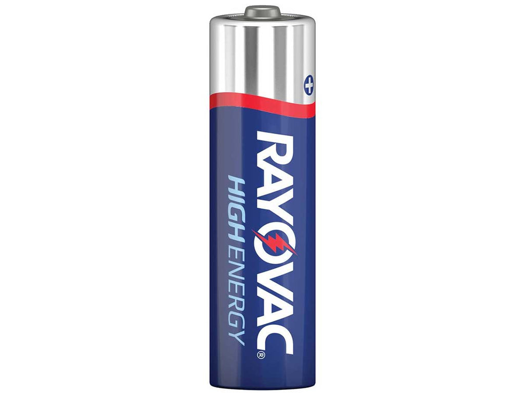 Rayovac High Energy 824 AAA 1.5V Alkaline Button Top Batteries - Made in USA - Case of 500