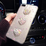 Bubble Heart Case