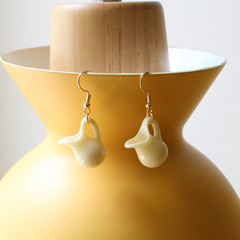 Milk Pitcher Earrings