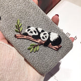 Embroidery Panda Case