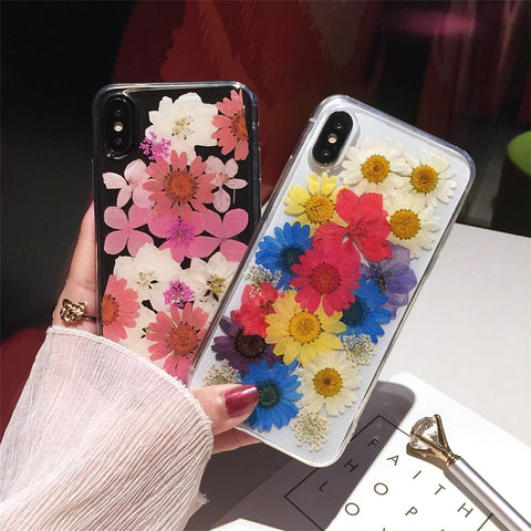 Colorful Flower Case