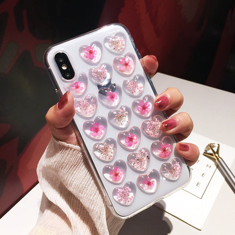 Floral Bubble Case