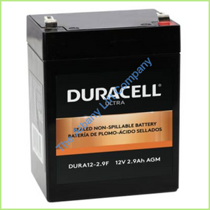 12V/2.9Ah Battery With F1 Terminals Parts