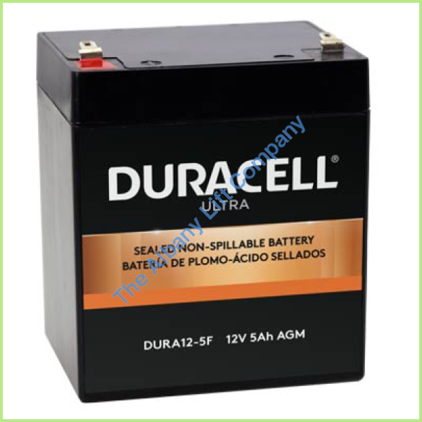 12V/5Ah Battery With F1 Terminals Parts