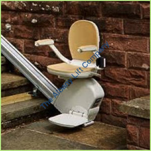 Acorn Outdoor Straight Stairlift