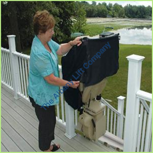 Bruno Elite Outdoor Straight Stairlift