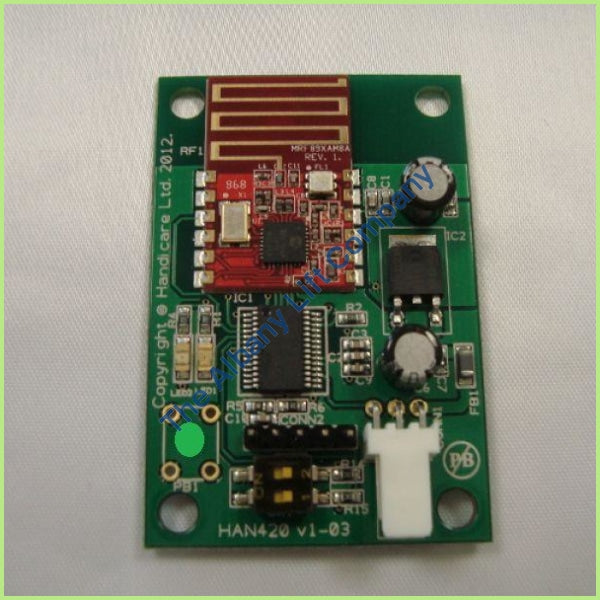 Handicare 1000 2.4Ghz Rf Receiver Pcb Backwards Parts