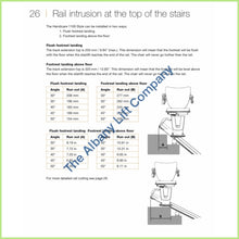 Load image into Gallery viewer, Handicare 1100 Indoor Straight Stairlift