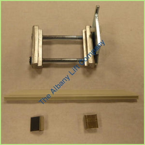 Handicare 1100- Rail End Block Kit Left Parts