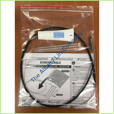 Handicare Elegance / Alliance Bowden Cable Service Set Parts