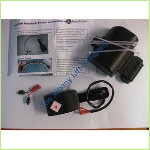 Handicare Elegance / Alliance Seatbelt Interlock Switch Black Parts