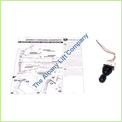 Handicare Elegance / Alliance Spare Part Joystick Parts