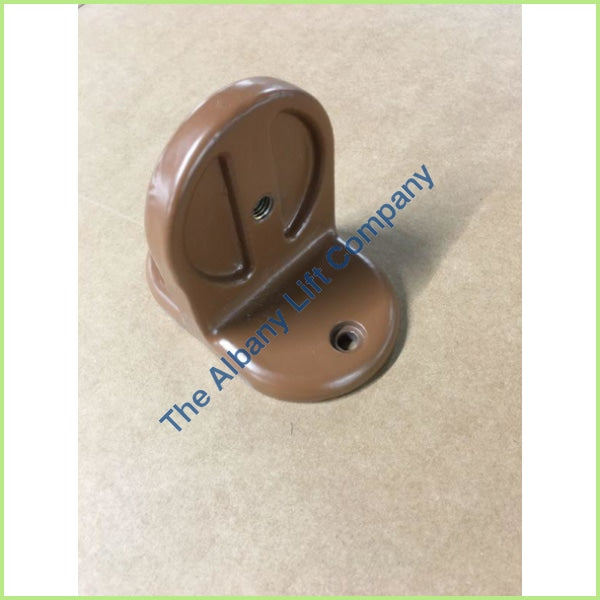 Handicare Freecurve Rail Foot Ral 8024 Brown Parts
