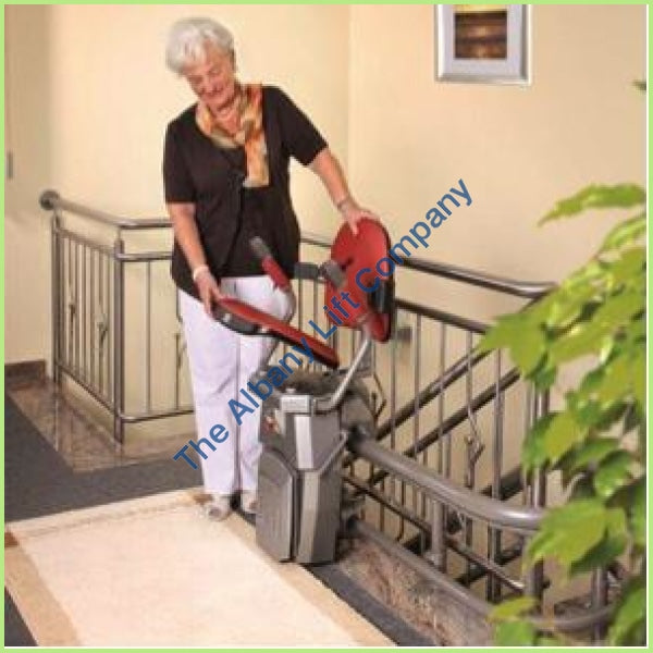 Hawle Curved Stairlift