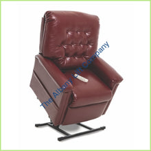 Load image into Gallery viewer, Pride Lc-358S Burgundy Lexis Sta Kleen Reclining Lift Chair