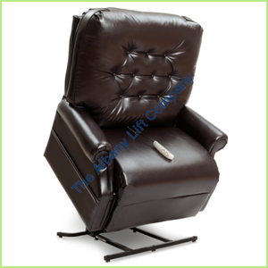Pride Lc-358S Chestnut Lexis Sta Kleen Reclining Lift Chair