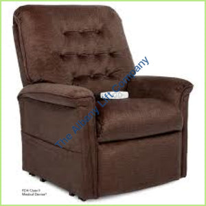 Pride Lc-358S Espresso Crypton Reclining Lift Chair