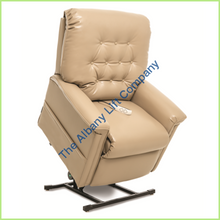 Load image into Gallery viewer, Pride Lc-358S Mushroom Lexis Sta Kleen Reclining Lift Chair