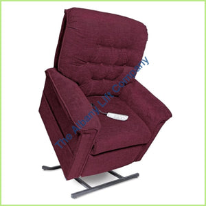 Pride Lc-358S Red Crypton Reclining Lift Chair