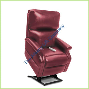 Pride Lc-525Is Burgundy Lexis Vinyl Reclining Lift Chair